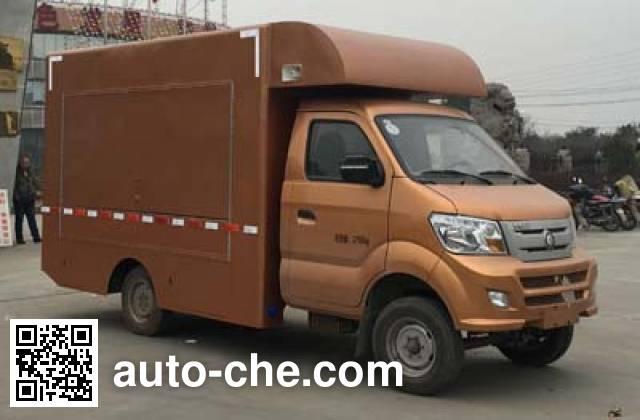 Sinotruk CDW Wangpai mobile shop CDW5030XSHN1M5