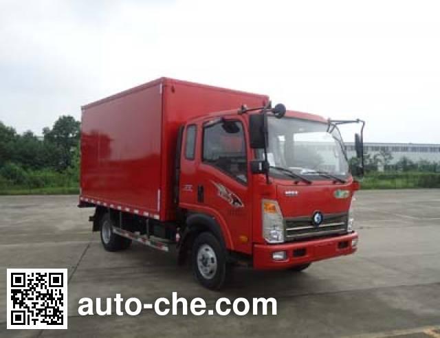 Sinotruk CDW Wangpai box van truck CDW5040XXYA1P5