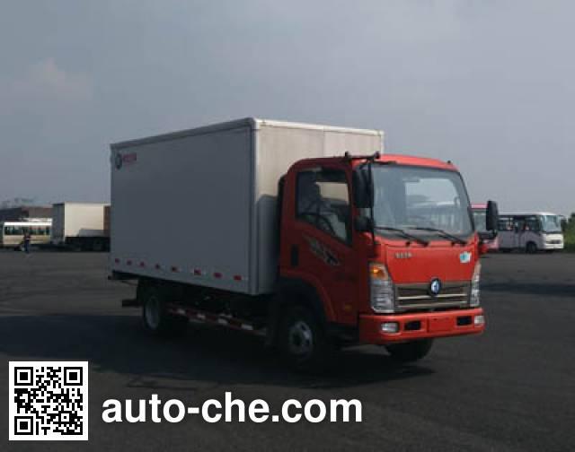 Sinotruk CDW Wangpai box van truck CDW5040XXYHA1P5