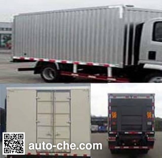 Sinotruk CDW Wangpai box van truck CDW5041XXYHA2Q4