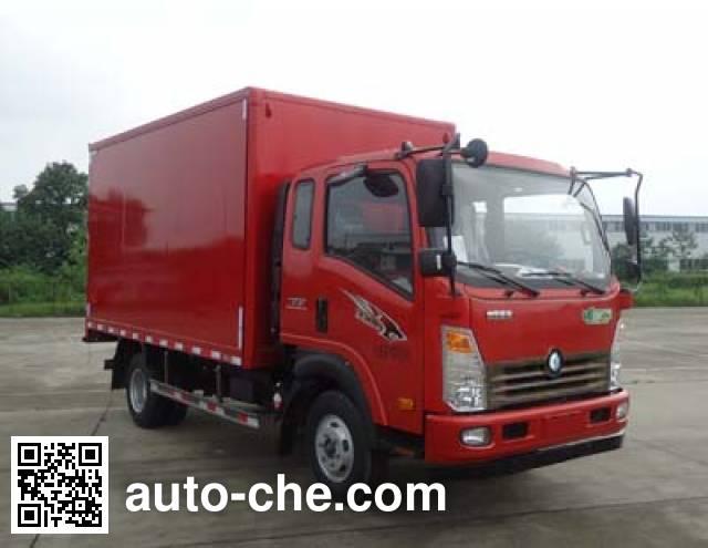 Sinotruk CDW Wangpai box van truck CDW5090XXYA1R5