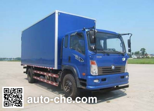 Sinotruk CDW Wangpai box van truck CDW5100XXYHA1R5