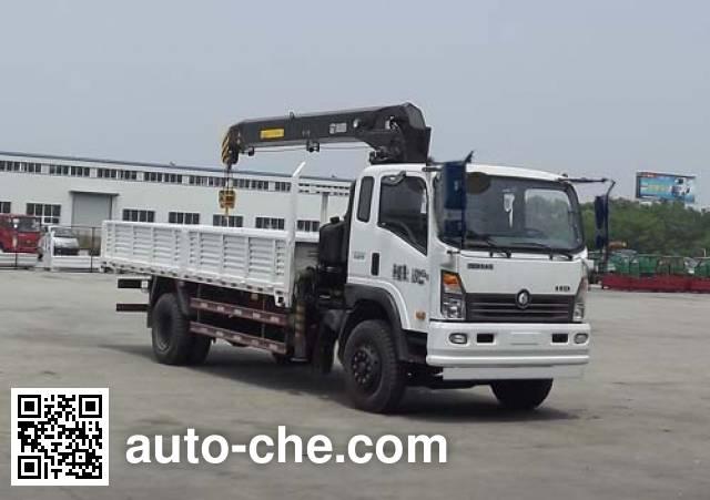 Sinotruk CDW Wangpai truck mounted loader crane CDW5120JSQHA2R4