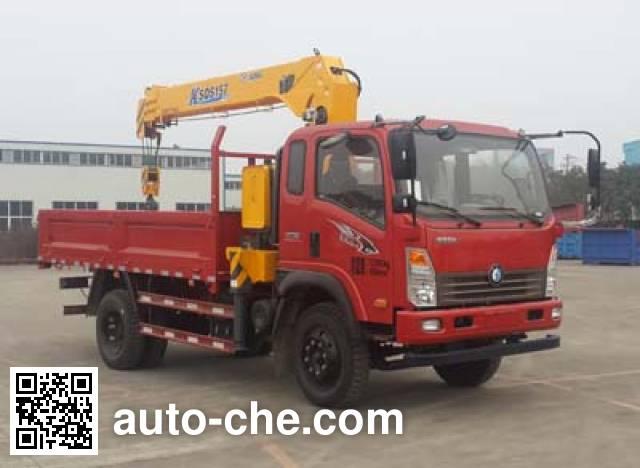 Sinotruk CDW Wangpai truck mounted loader crane CDW5160JSQA1R5