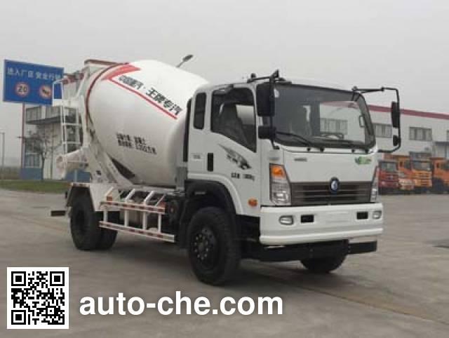 Sinotruk CDW Wangpai concrete mixer truck CDW5160GJBA3R5