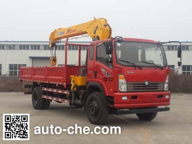 Sinotruk CDW Wangpai truck mounted loader crane CDW5161JSQA2C4