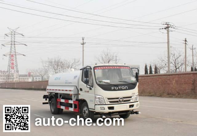 Yuanyi sprinkler machine (water tank truck) JHL5080GSS