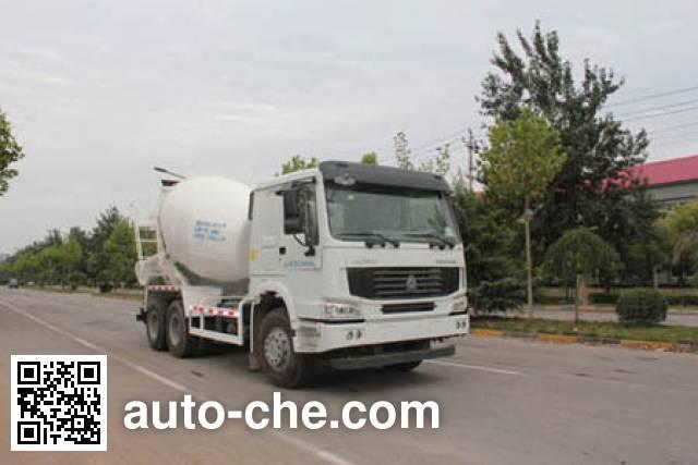 Yuanyi concrete mixer truck JHL5257GJBN38ZZ