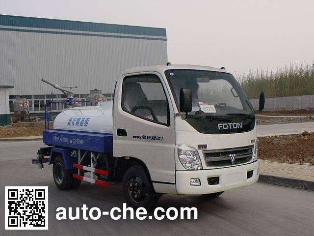 Luye sprinkler / sprayer truck JYJ5050GPS