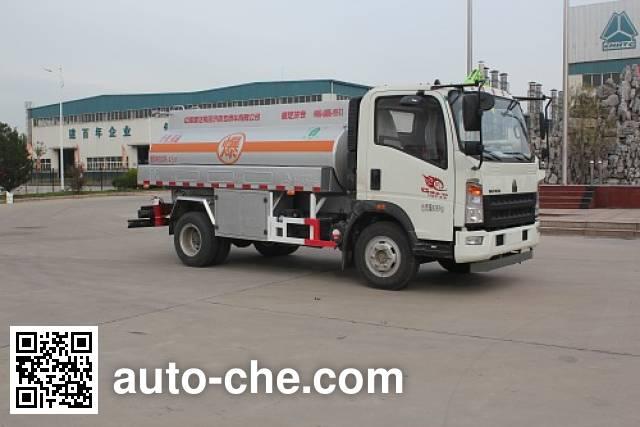 Luye fuel tank truck JYJ5087GJYE