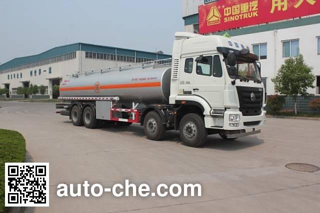 Luye oil tank truck JYJ5325GYYD