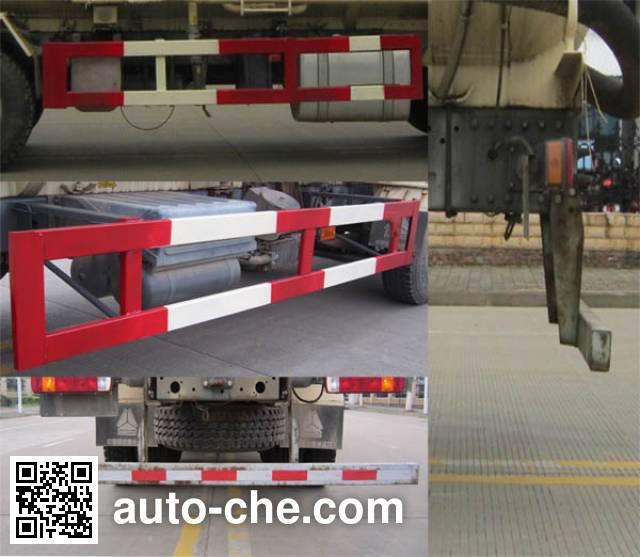 Yunli low-density bulk powder transport tank truck LG5310GFLZ5