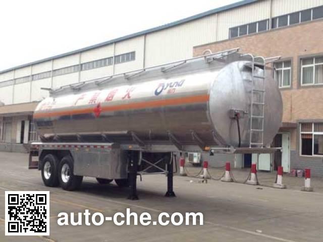 Yunli aluminium oil tank trailer LG9354GYY