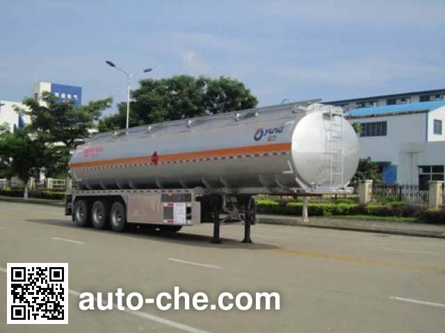 Yunli aluminium oil tank trailer LG9401GYYA