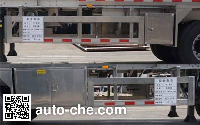 Yunli aluminium oil tank trailer LG9407GYY