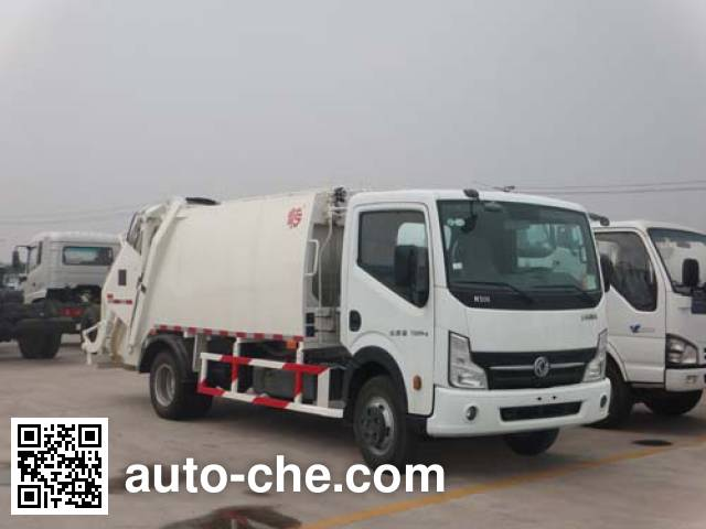 Qingzhuan garbage compactor truck QDZ5070ZYSEKD