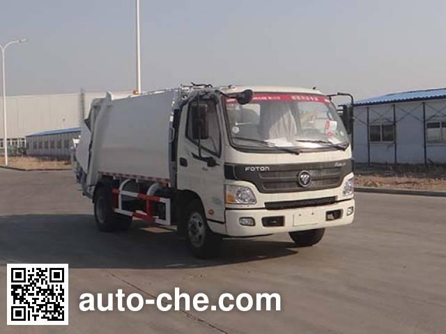 Qingzhuan garbage compactor truck QDZ5080ZYSBBE