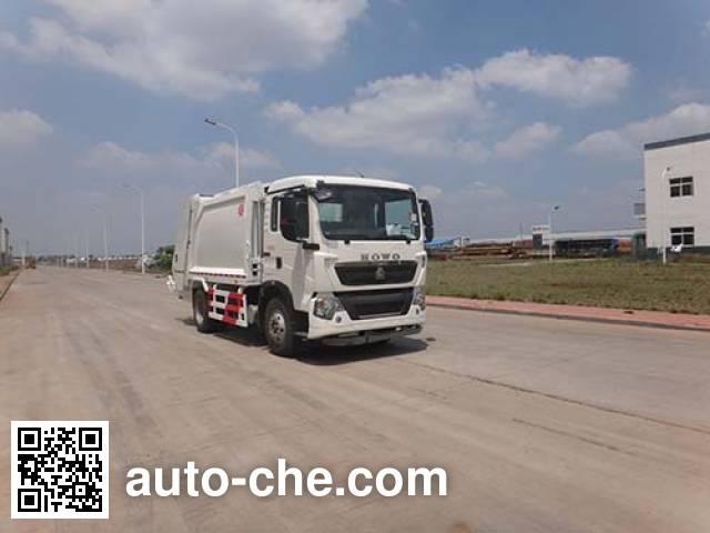 Qingzhuan garbage compactor truck QDZ5161ZYSZHT5GE1