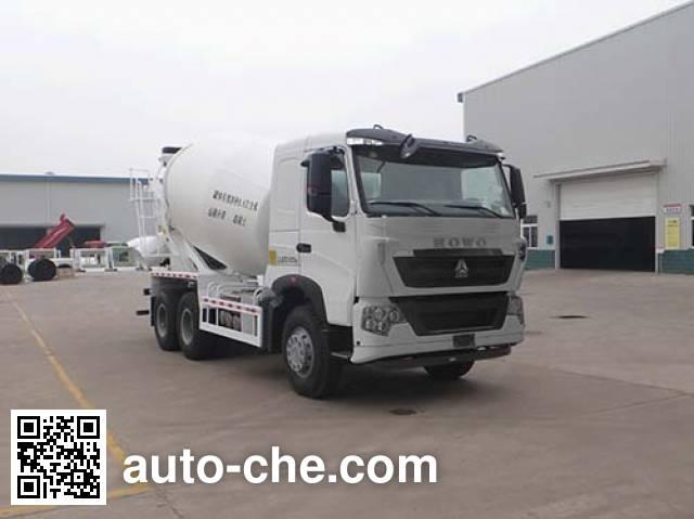 Qingzhuan concrete mixer truck QDZ5258GJBZHT7H