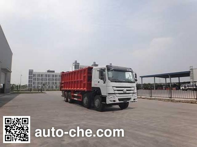 Qingzhuan garbage truck QDZ5310ZLJZHE1