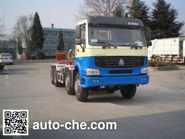 Qingzhuan detachable body garbage truck QDZ5312ZXXZH