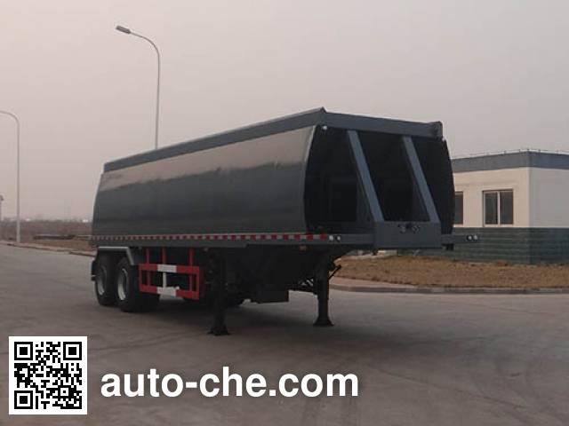 Qingzhuan oilfield slurry blender trailer QDZ9340TSH