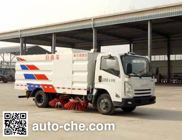 Sinotruk Huawin street sweeper truck SGZ5079TSLJX5
