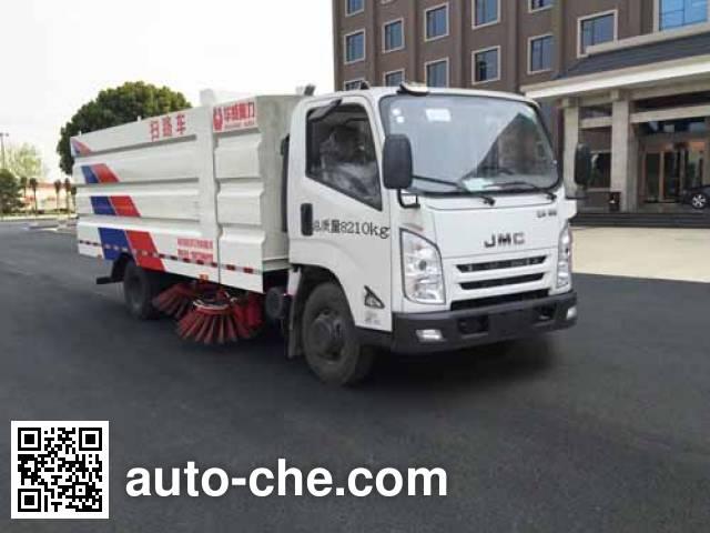 Sinotruk Huawin street sweeper truck SGZ5089TSLJX4