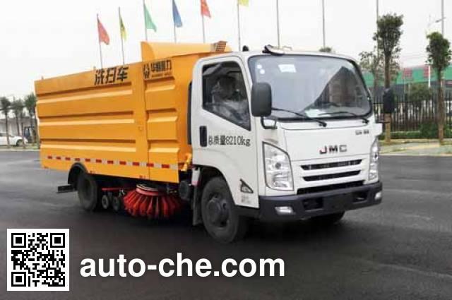 Sinotruk Huawin street sweeper truck SGZ5089TXSJX4