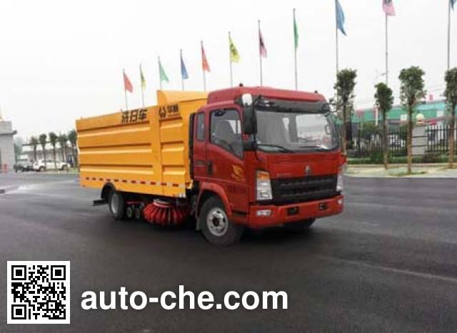 Sinotruk Huawin street sweeper truck SGZ5100TXSZZ5