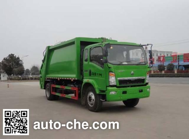 Sinotruk Huawin garbage compactor truck SGZ5100ZYSZZ5