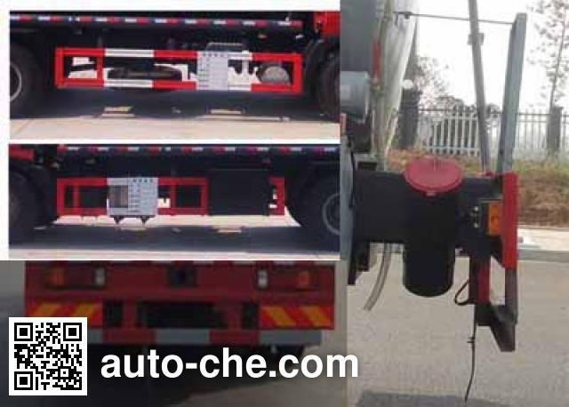 Sinotruk Huawin corrosive substance transport tank truck SGZ5160GFWZZ5T5