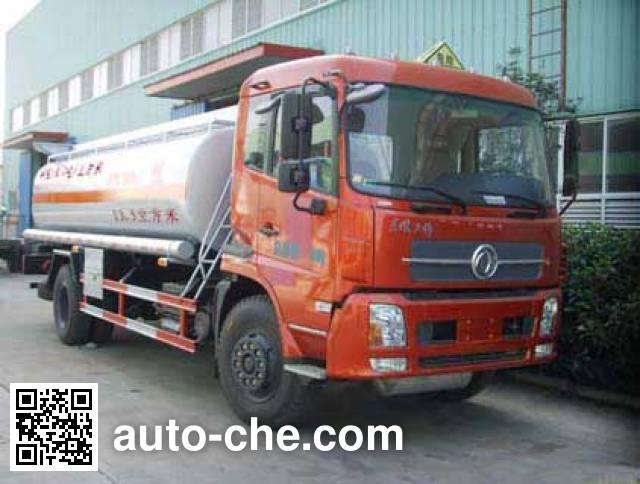 Sinotruk Huawin flammable liquid tank truck SGZ5160GRYD4BX5