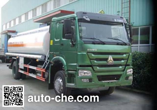Sinotruk Huawin flammable liquid tank truck SGZ5160GRYZZ4W