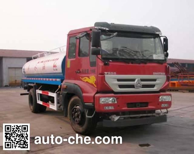 Sinotruk Huawin sprinkler machine (water tank truck) SGZ5164GSSZZ45