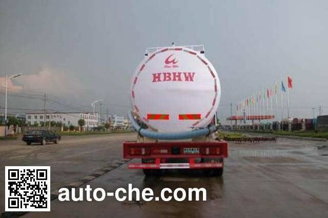 Sinotruk Huawin low-density bulk powder transport tank truck SGZ5250GFLZZ4W58