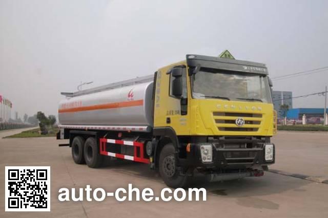 Sinotruk Huawin flammable liquid tank truck SGZ5250GRYCQ4