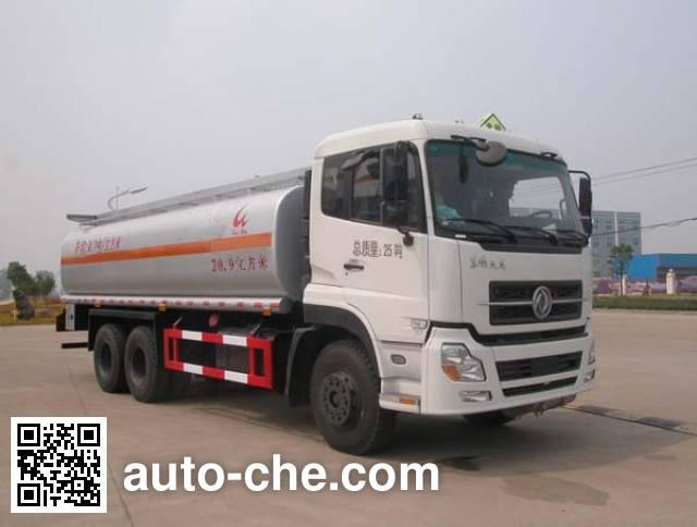 Sinotruk Huawin flammable liquid tank truck SGZ5250GRYD4A12