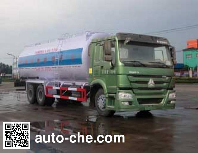 Sinotruk Huawin dry mortar transport truck SGZ5251GGHZZ4W