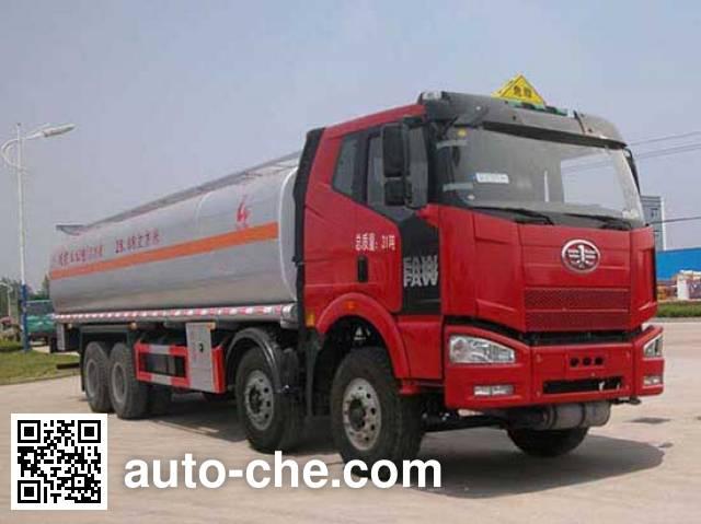 Sinotruk Huawin flammable liquid tank truck SGZ5310GRYCA3