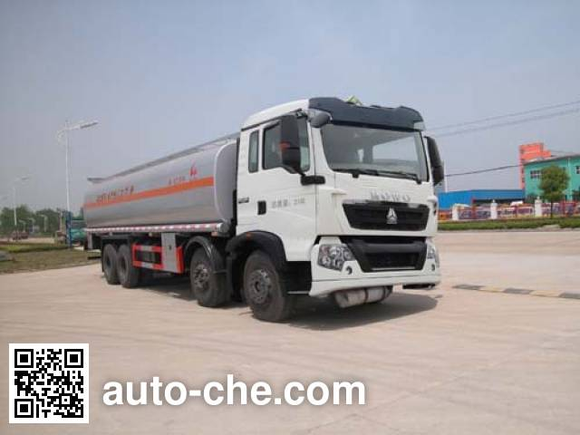 Sinotruk Huawin flammable liquid tank truck SGZ5310GRYZZ4G