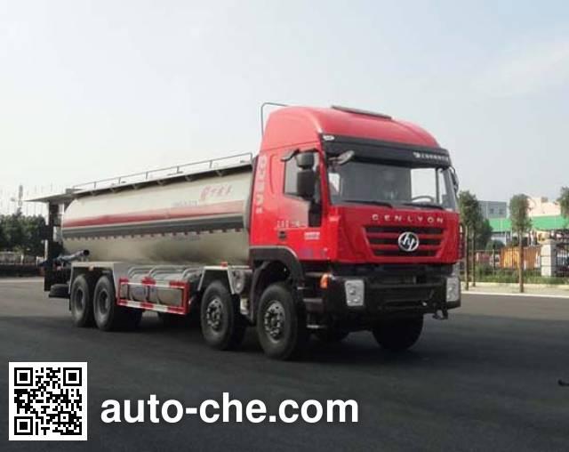 Sinotruk Huawin pneumatic discharging bulk cement truck SGZ5310GXHCQ5L
