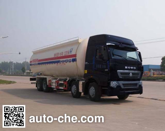 Sinotruk Huawin low-density bulk powder transport tank truck SGZ5311GFLZZ4H