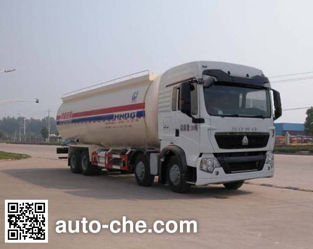Sinotruk Huawin low-density bulk powder transport tank truck SGZ5311GFLZZ4G