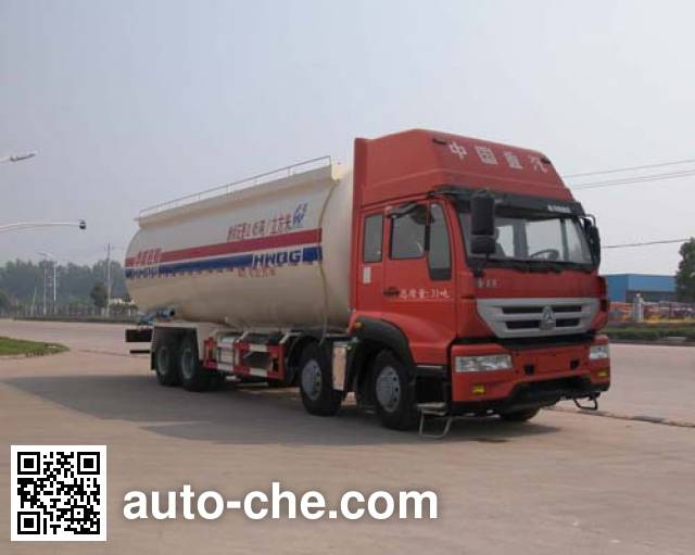 Sinotruk Huawin low-density bulk powder transport tank truck SGZ5311GFLZZ4J