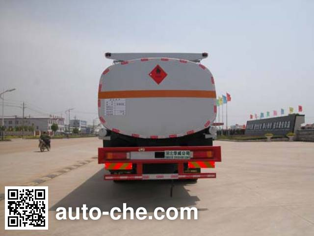 Sinotruk Huawin flammable liquid tank truck SGZ5311GRYZZ4G