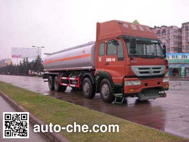 Sinotruk Huawin flammable liquid tank truck SGZ5311GRYZZ4J