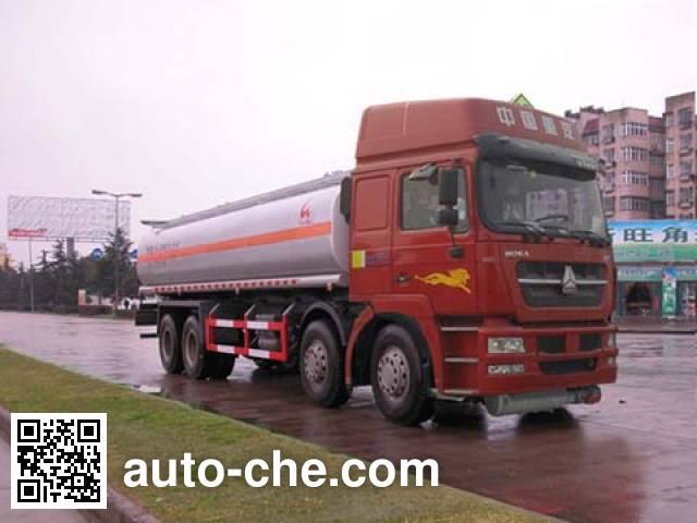 Sinotruk Huawin flammable liquid tank truck SGZ5311GRYZZ4K