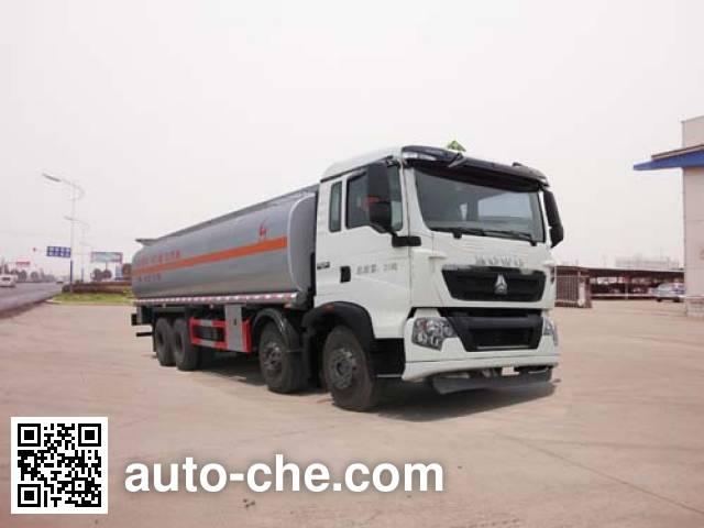 Sinotruk Huawin flammable liquid tank truck SGZ5311GRYZZ4T7