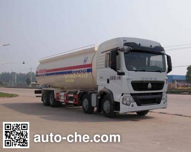 Sinotruk Huawin pneumatic discharging bulk cement truck SGZ5311GXHZZ4G